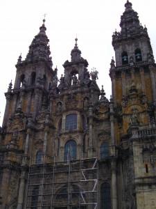 Angekommen in Santiago di Compostela - das ist er also, der berühmte Dom. Foto: Daniela D.
