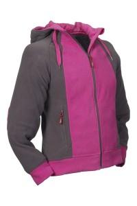 LONGLAC - Fleece-Jacke für Damen in verschiedenen Farben. Ein Klick aufs Bild führt in den Shop.