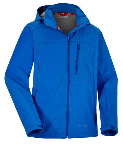 Fifty Five Herren Softshelljacke Labrador blau