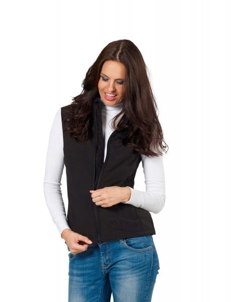 Damen Softshell-Weste KANARA von Fifty Five in schwarz 1