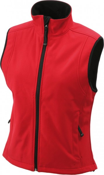 Damen Softshell-Weste KANARA von Fifty Five in rot 2