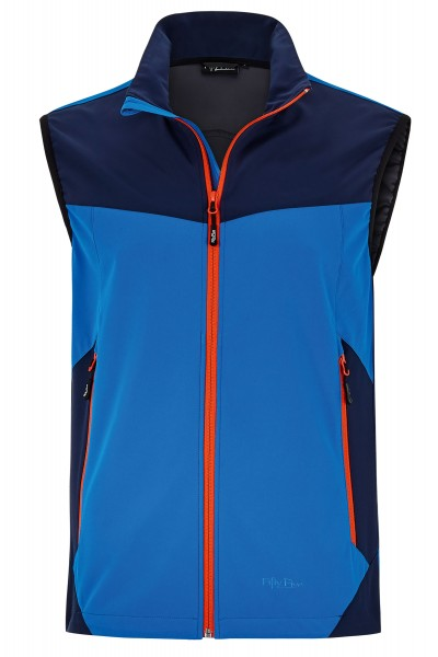 Herren Softshell Weste Mc Murray von Fifty Five in blau