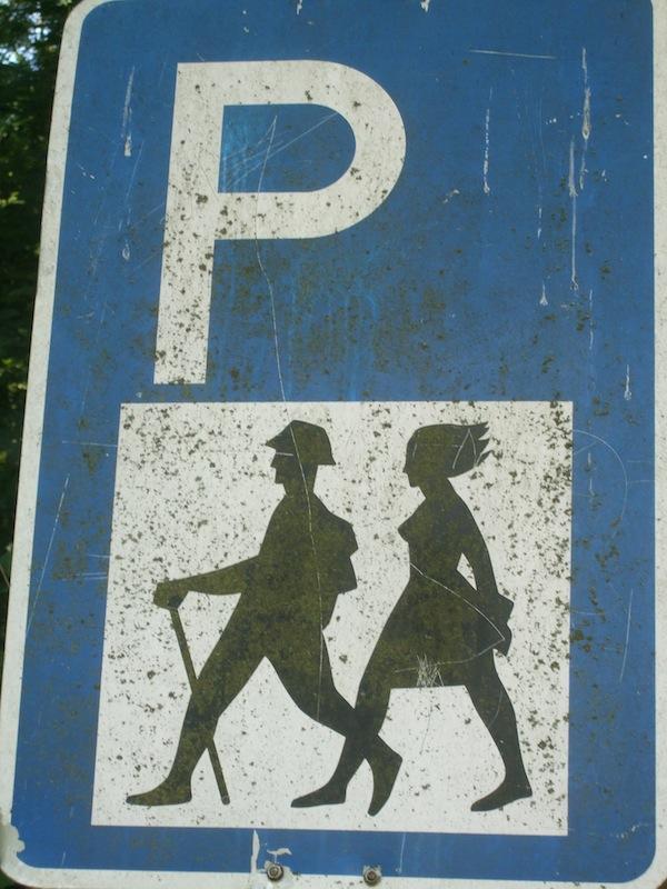 Parkplatzschild-1