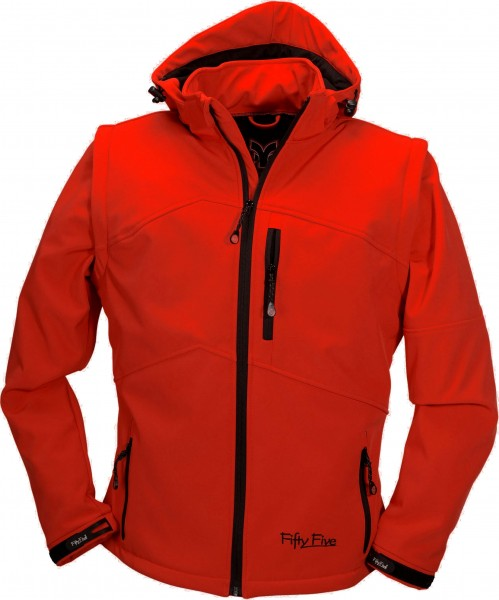 Damen Softshelljacke Whistler von Fifty Five in rot 1
